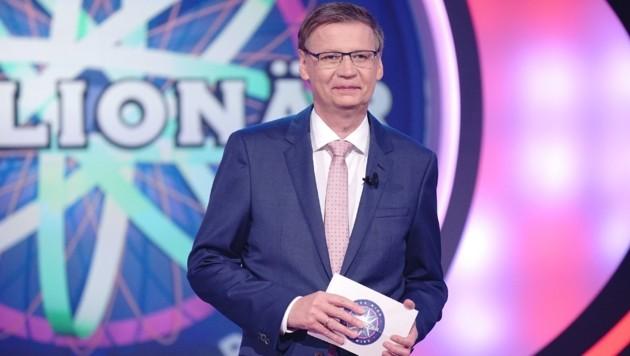 """Günther Jauch moderiert seit 1999 """"Wer wird Millionär?"""" auf RTL (Bild: RTL)"""