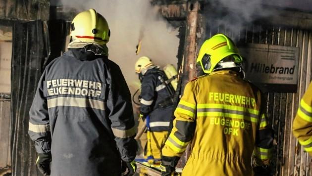 Brand in Eugendorf - Alarmstufe 2 (Bild: Markus Tschepp)