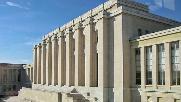 Der Hauptsitz des Menschenrechtsrates in Genf