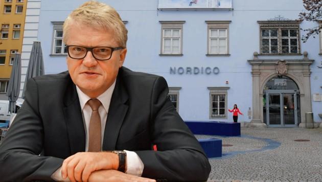 Das Nordico darf nicht geopfert werden, so Bürgermeister Luger (Bild: Horst Einöder, Harald Dostal)