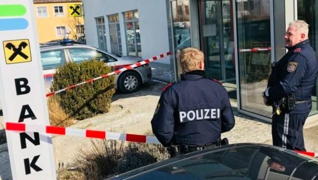 Eine Alarmfahndung nach dem Täter läuft (Bild: Werner Kerschbaummayr)