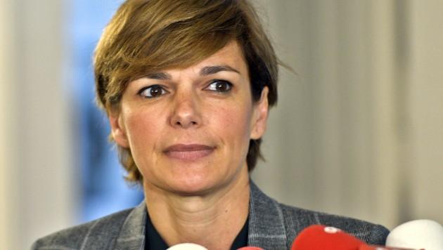 SPÖ-Gesundheitssprecherin Rendi-Wagner (Bild: APA/HERBERT NEUBAUER)