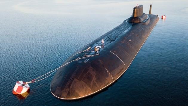 Das russische Atom-U-Boot Dmitry Donskoy (Bild: AP)