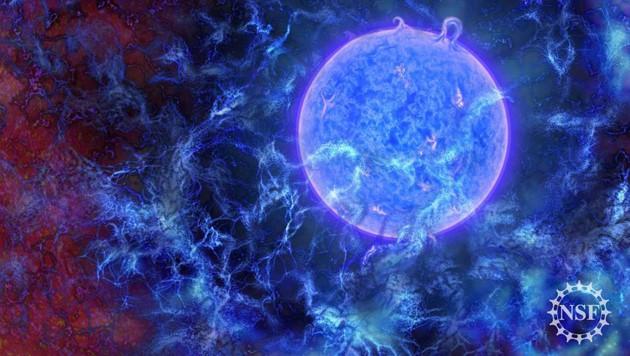 Signale der ersten Sterne im Universum entdeckt