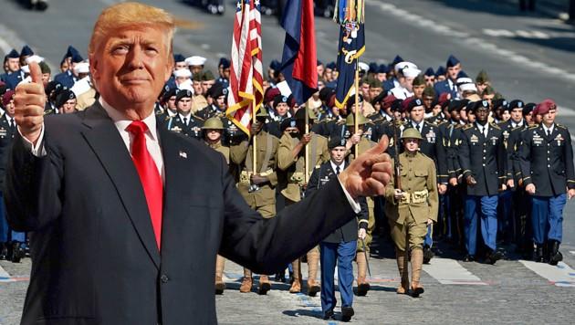 Trump bekommt seine Militärparade