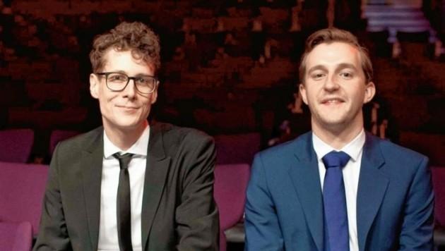 Die beiden Diagonale-Intendanten Sebastian Höglinger und Peter Schernhuber (Bild: Diagonale/Miriam Raneburger)