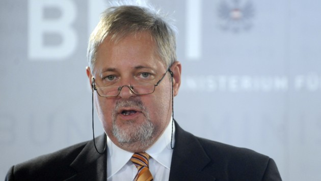 Peter Gridling, der suspendierte Chef des Bundesamts für Verfassungsschutz und Terrorismusbekämpfung