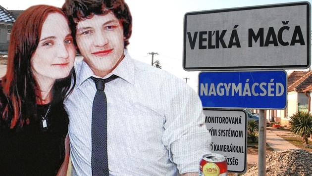 Investigativjournalist Jan Kuciak und seine Verlobte wurden im Vorjahr kaltblütig ermordet. (Bild: Andi Schiel, krone.at-Grafik)