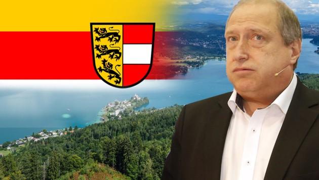 Die Kärntner Grünen mit ihrem Spitzenkandidaten Rolf Holub müssen um den Wiedereinzug in den Landtag zittern.