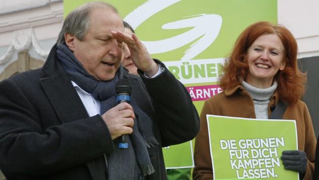 Die politische Karriere des grünen Spitzenkandidaten Rolf Holub dürfte vorbei sein.