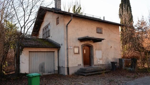 Haus von Cornelius Gurlitt in Salzburg, Austria