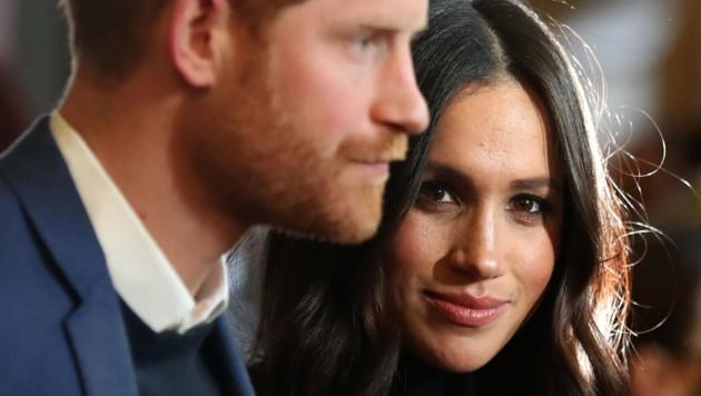 Prinz Harry und seine Verlobte, Meghan Markle