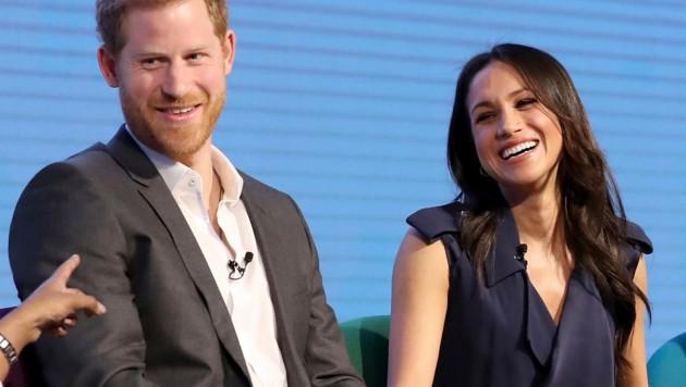 Prinz Harry und seine schöne Verlobte, Meghan Markle