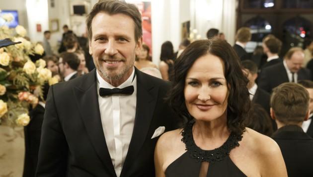 Eva Glawischnig und Volker Piesczek