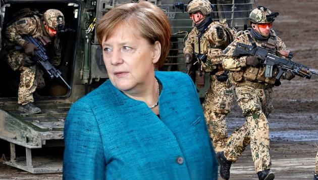 Merkel schickt im April Bundeswehr in den Irak