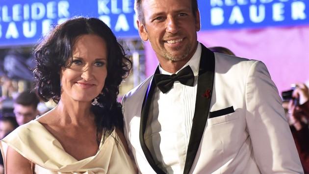 Eva Glawischnig und ihr Mann Volker Piesczek