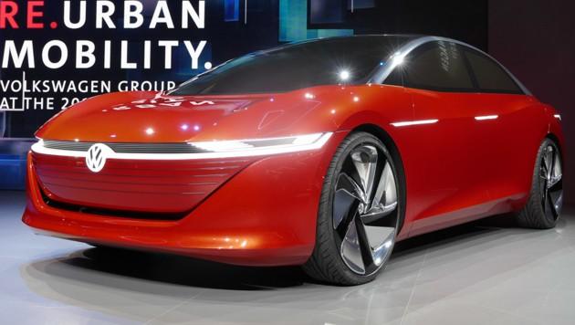 VW ID Vizzion: Fährt autonom, reagiert emotional