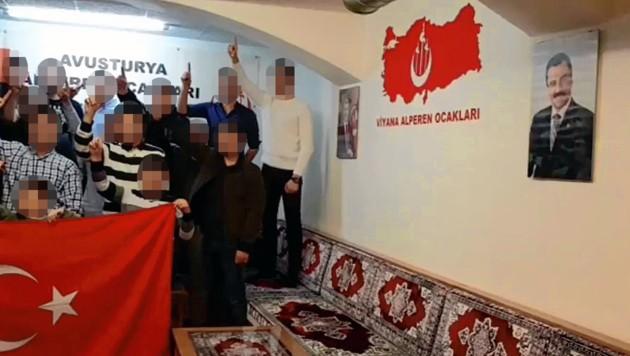 (Bild: facebook.com/Viyana Alperen Ocaklari Egitim Kültür ve Dayanisma Vakfi)