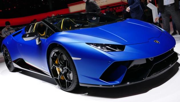 Lamborghini Huracán Performante Spyder (Bild: Stephan Schätzl)
