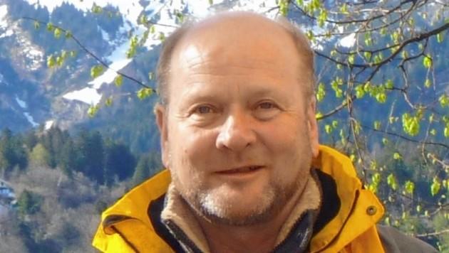 Landesgeologe Gunther Heißel