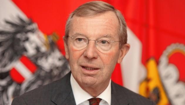 Wilfried Haslauer (Salzburger Landeshauptmann) (Bild: Franz Neumayr/SB)