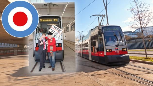 (Bild: Wiener Linien (Manfred Helmer) / Marcel Hartmann / Straßenbahn Michl)