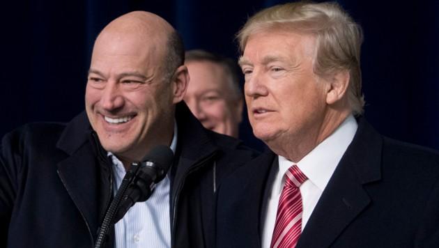 Gary Cohn war Wirtschaftsberater von US-Präsident Donald Trump (Bild: AFP or licensors)