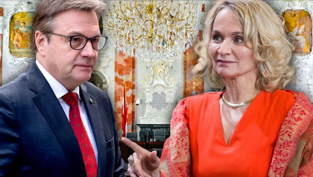 Günther Platter brach die Koalitionsgespräche mit der SPÖ und ihrer Chefin Elisabeth Blanik ab. (Bild: APA/ROBERT PARIGGER, APA, APA/GEORG HOCHMUTH, krone.at-Grafik)