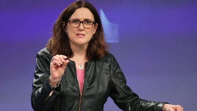 EU-Kommissarin Malmström