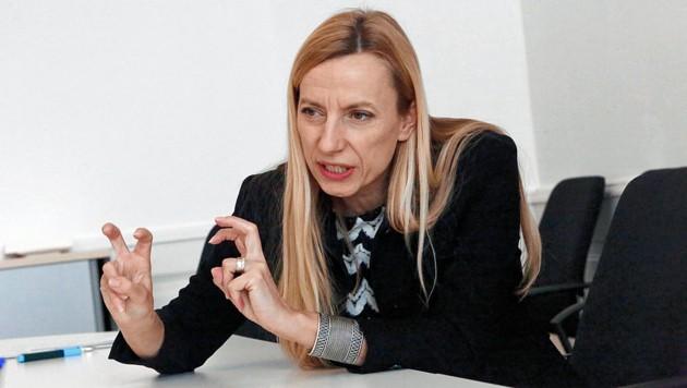 Familienministerin Juliane Bogner-Strauß