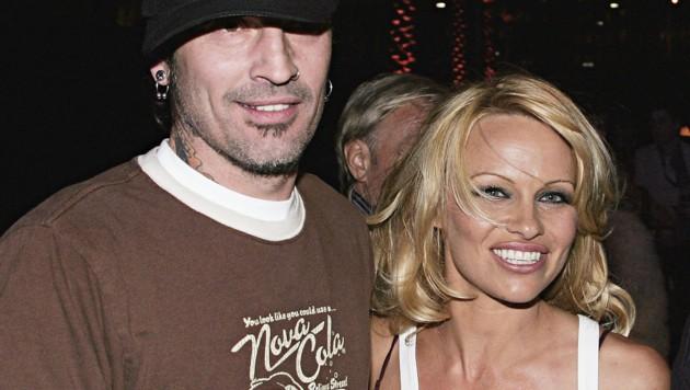 Tommy Lee mit Ex-Frau Pamela Anderson