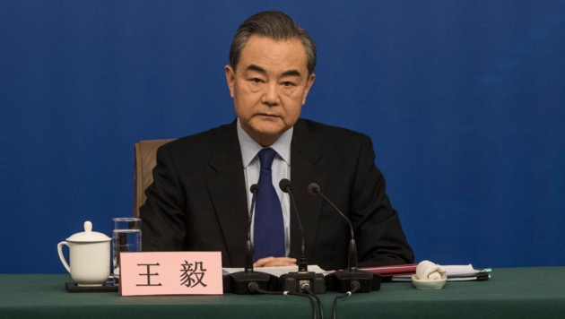 Chinas Außenminister Wang Yi