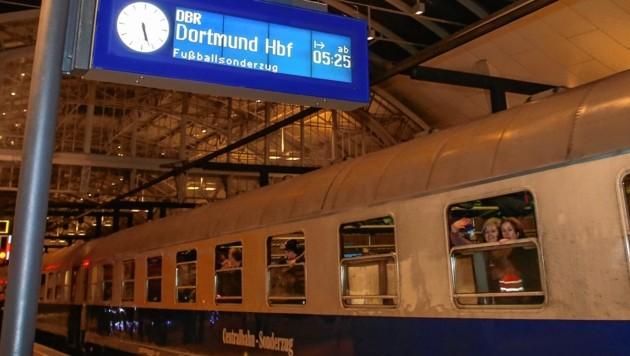 Abfahrt nach Dortmund
