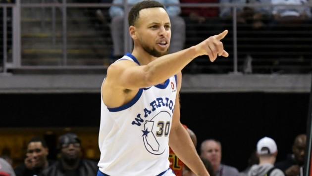 """""""Ober-Warrior"""" Stephen Curry (Bild: AP)"""