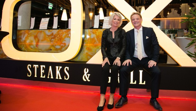Thomas Altendorfer - hier mit Ehefrau Petra - ist als Österreichs Gastronom des Jahres nominiert.