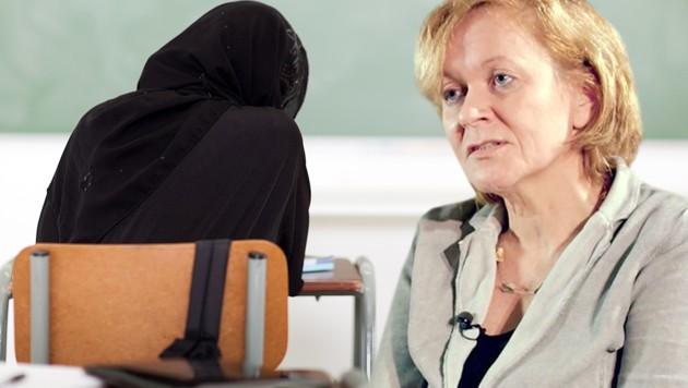 Susanne Wiesinger, Lehrerin und Personalvertreterin der sozialdemokratischen Lehrergewerkschaft, spricht offen über die mit dem Islam verbundenen Probleme an Wiens Schulen.