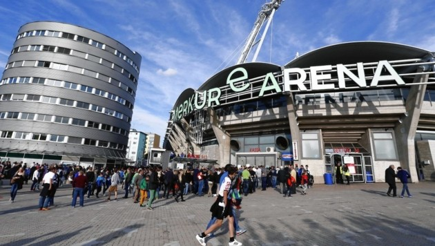 Mittwoch steigt kein Spiel in der Grazer Merkur Arena. (Bild: APA/ERWIN SCHERIAU)