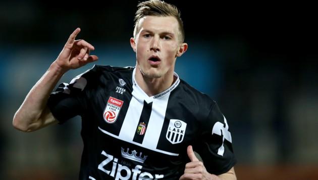 LASK-Goalgetter Thomas Goiginger