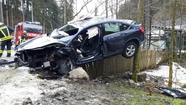 Drei Verletzte forderte die Wahnsinnsfahrt eines jungen Autorowdys aus Ottnang.