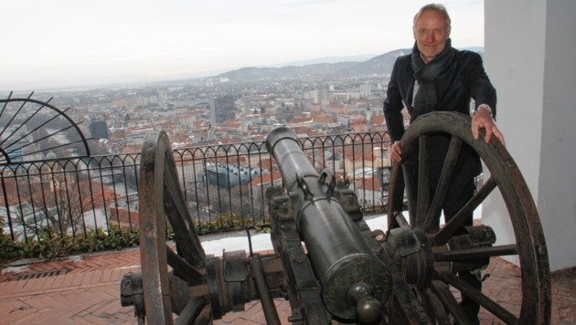 Der Grazer Kultur- und Finanzstadtrat Günter Riegler (VP) forciert das Schloßberg-Museum