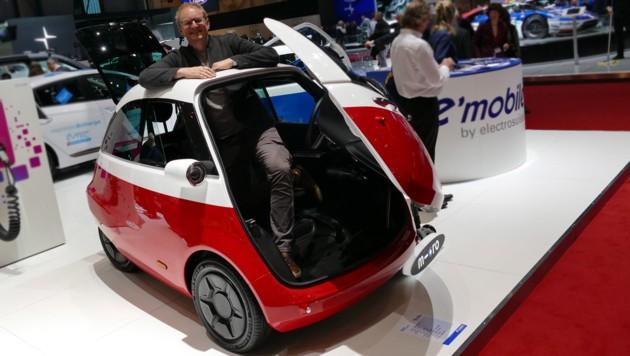 Microlino, die neue Isetta: Wie cool ist das denn? | krone at
