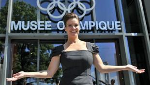 Archivbild aus dem Jahr 2011: Katarina Witt während eines Fototermins anlässlich der Bewerbung Münchens für die Olympischen Winterspiele 2018 (Bild: AFP)