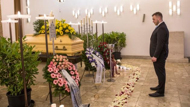 Für Andre Hanser ist der Respekt vor den Toten und deren Angehörigen wichtig.