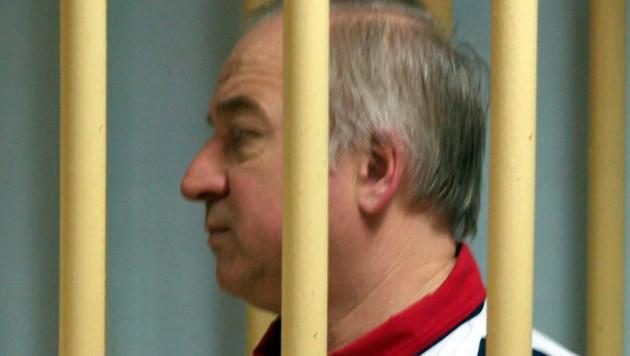 Sergej Skripal in russischer Haft (Archivbild 2006)