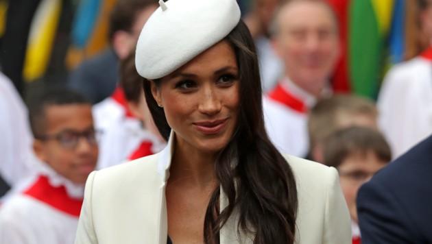 Meghan Markle verzauberte bei ihrem ersten offiziellen Auftritt mit der Queen alle.