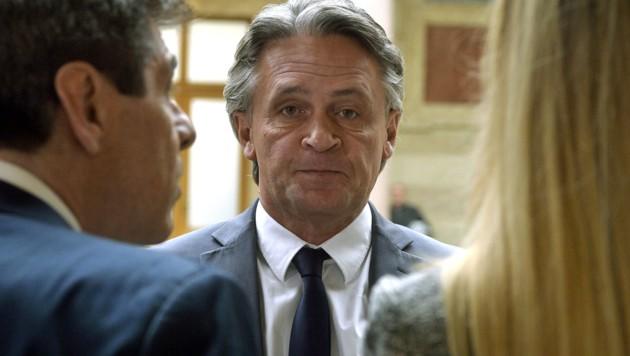 Peter Westenthaler vor Gericht