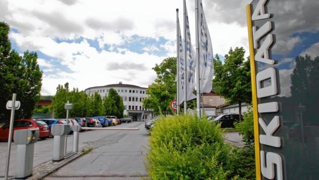 Salzburg, Grödig, die Firma Skidata