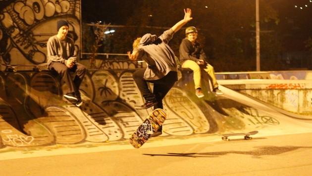 Im Goodlands Skatepark sind an Spitzentagen bis zu 200 Sportler.