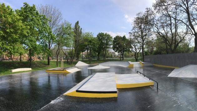 Im neuen Loretto Plaza werden alle Skater-Wünsche erfüllt.