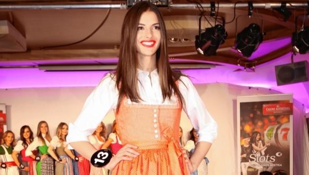 """Vize-""""Miss Tirol"""" Maria Hackl (Bild: Hammann Recka)"""